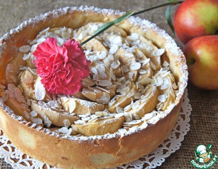 Рецепт: Яблочный пирог Премиальный