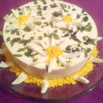 Сливочно-закусочный торт Летний холодок