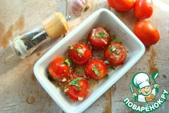 Рецепт: Быстрые малосольные помидоры