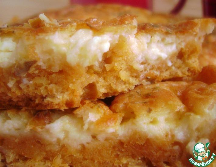 Рецепт: Пирог мультизлаковый с мульти-сырным суфле