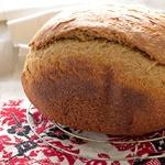 Хлеб ржано-пшеничный на домашнем квасе