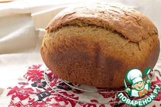 Рецепт: Хлеб ржано-пшеничный на домашнем квасе