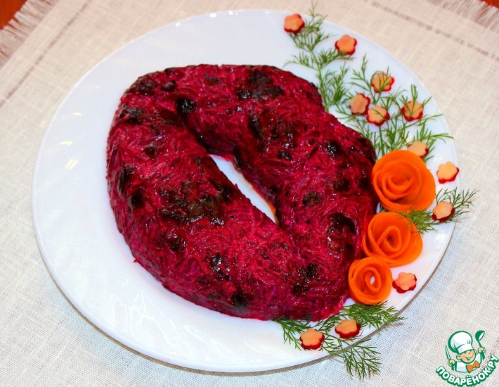 Рецепт: Салат Любовники