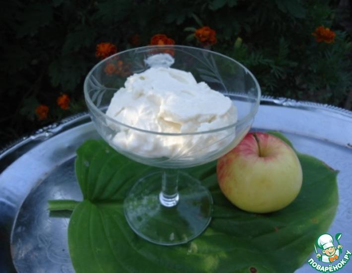 Рецепт: Мороженое медово-творожное