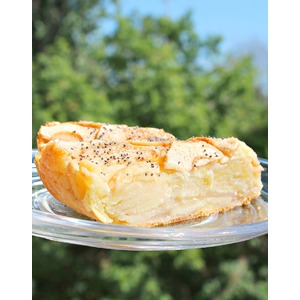 Яблочно-творожный пирог Оборванец