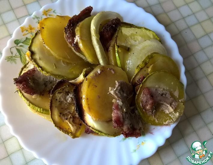 Рецепт: Любимый картофель в духовке