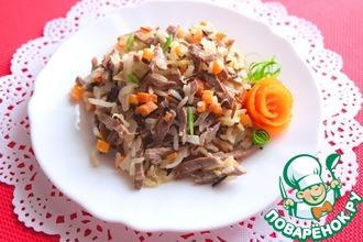 Рецепт: Салат Восточный
