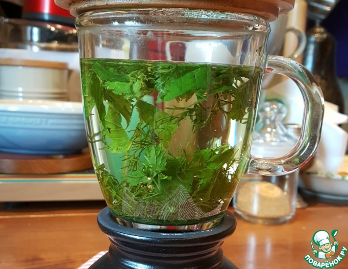 Рецепт: Чай для снижения аппетита
