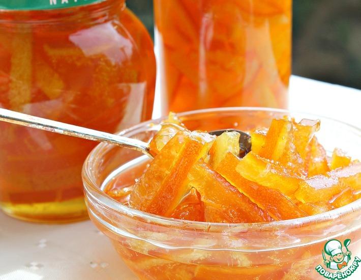 Рецепт: Самый апельсиновый конфитюр