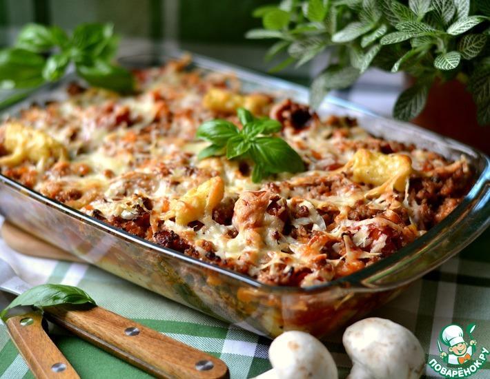 Рецепт: Картофельные ньокки с мясным фаршем