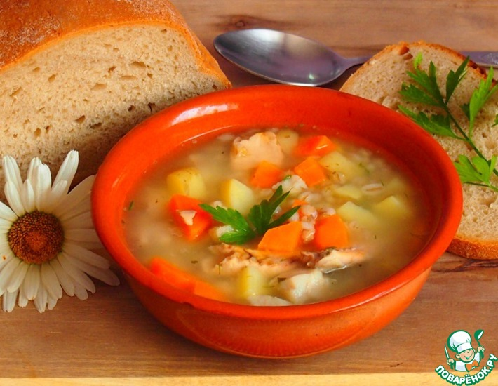 Рецепт: Рыбный суп