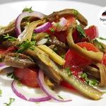 Салат с баклажанами на каждый день