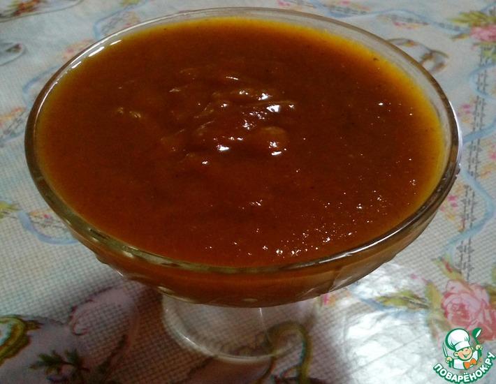 Рецепт: Соус из желтых слив