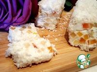 Мягкий десертный сыр с цукатами и миндалём ингредиенты