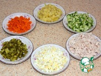 Салат Столичный ингредиенты