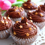 Капкейки шоколадные Сказки Шахерезады