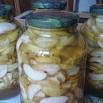 Консервированные яблоки в собственном соку