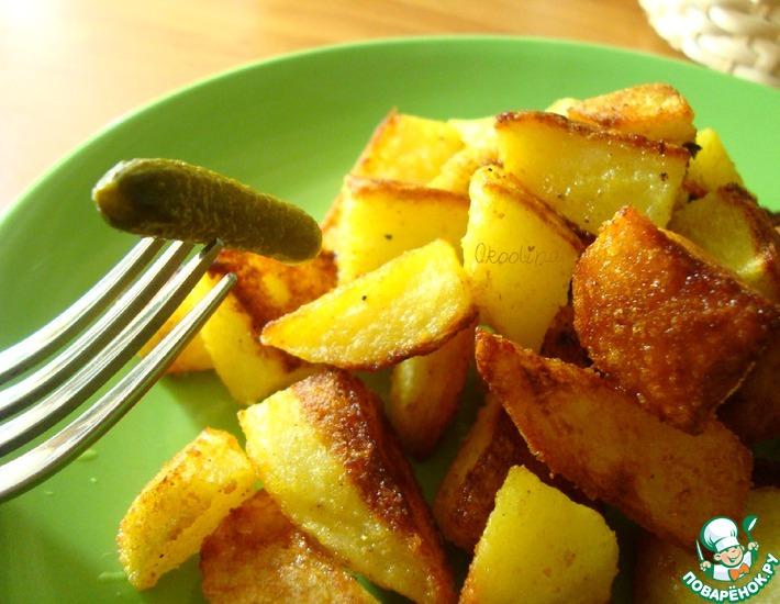 Рецепт: Картофель карри
