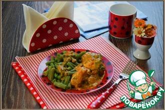 Рецепт: Курица Дуняша