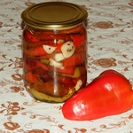 Вяленый болгарский перец на зиму