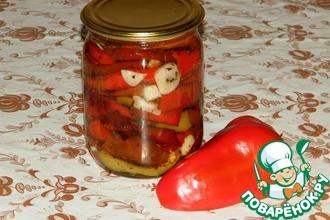 Рецепт: Вяленый болгарский перец на зиму