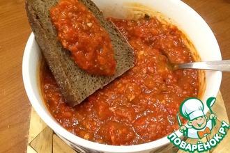 Рецепт: Аджика по рецепту из Карабаха