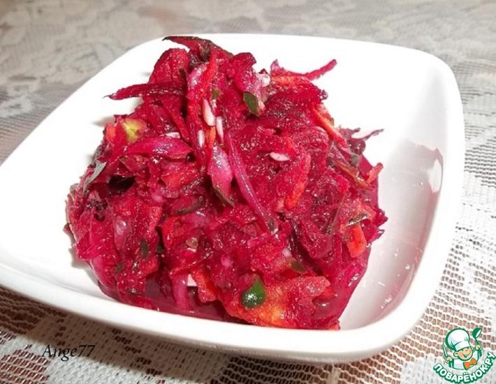 Рецепт: Салат со свёклой