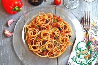 Рецепт: Соус Рататуй со спагетти