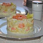 Салат с креветками Экзотика
