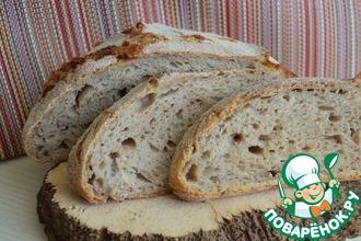 Рецепт: Хлеб гречнево-пшеничный