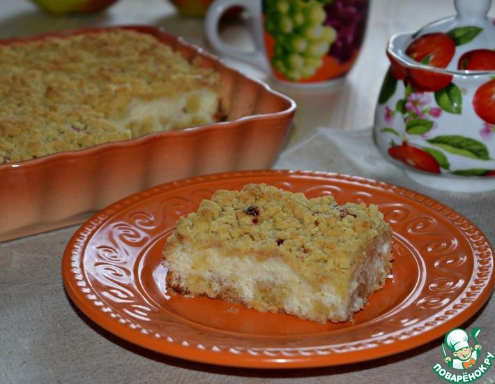 Рецепт: Пирог-запеканка с кокосом