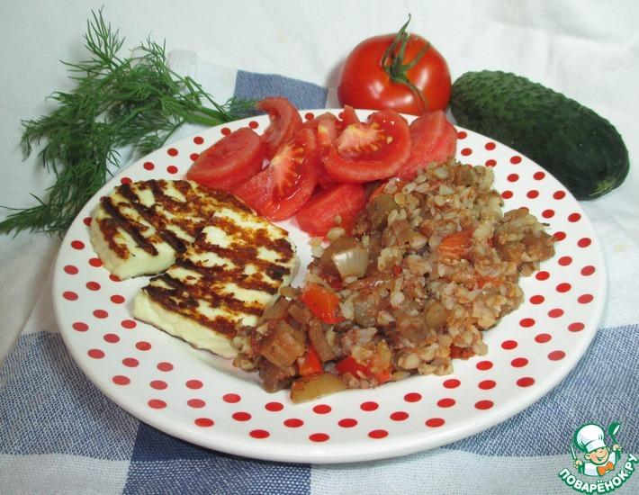 Рецепт: Гречка с овощами Простая постная