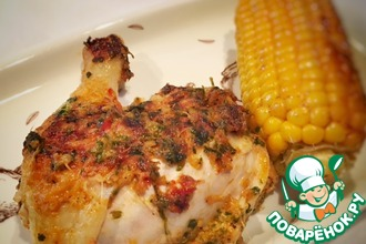 Рецепт: Пряная курица Нежнейшая