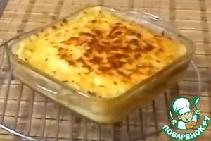 Рецепт: Картофельная запеканка