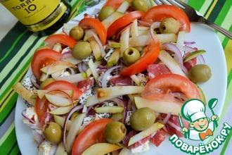 Рецепт: Салат Почти испанский