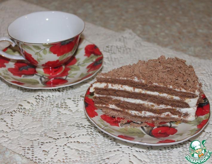 Рецепт: Торт Медовик шоколадный