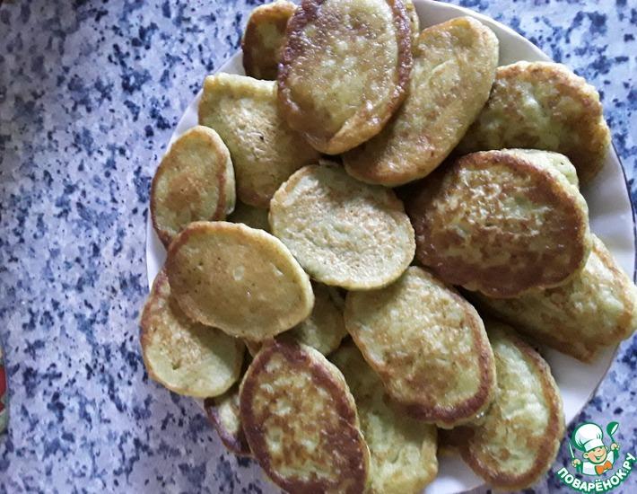 Рецепт: Оладьи из брокколи