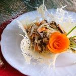 Салат Печеночный с сыром