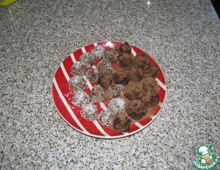 Рецепт: Конфеты из детской смеси Малютка