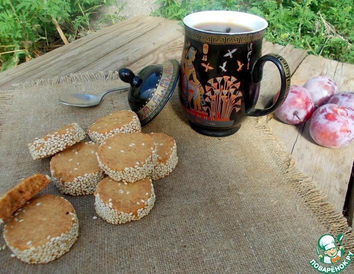 Рецепт: Карамельно-кофейное печенье