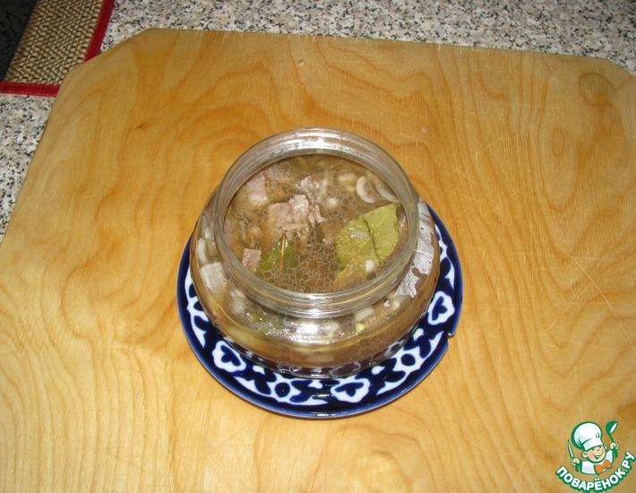 Рецепт: Сельдь в горячем маринаде