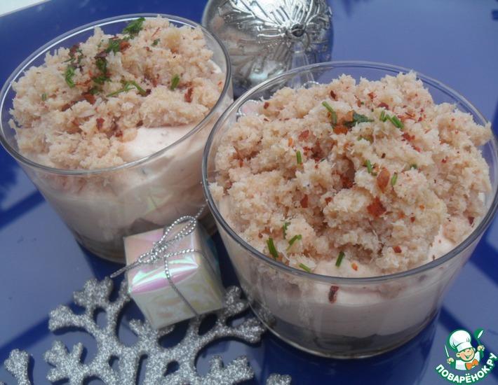 Рецепт: Морское тирамису