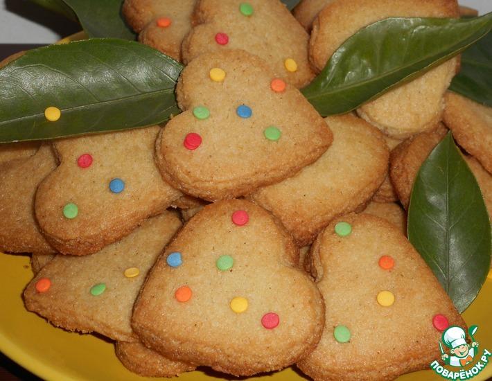 Рецепт: Печенье с кардамоном
