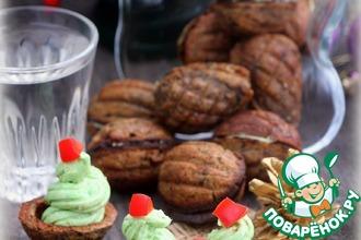 Рецепт: Паштет сало-авокадо в хлебных орешках
