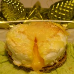 Воздушное яйцо с сыром