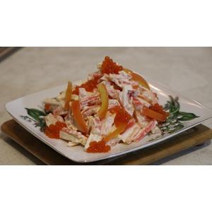 Праздничный салат Красное море