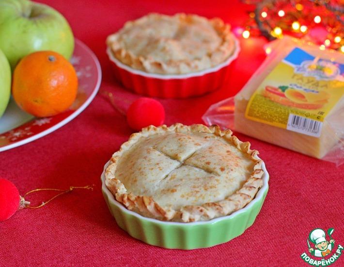 Рецепт: Яблочный пирог с сыром Гауда