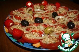Рецепт: Закуска с помидорами по-египетски