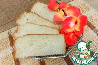 Рецепт: Творожный хлеб для хлебопечки