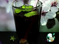 Мохито черничный по-домашнему ингредиенты